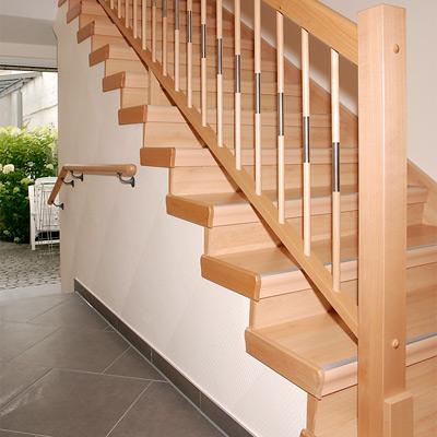 Treppenhaus Einfamilienhaus nachher