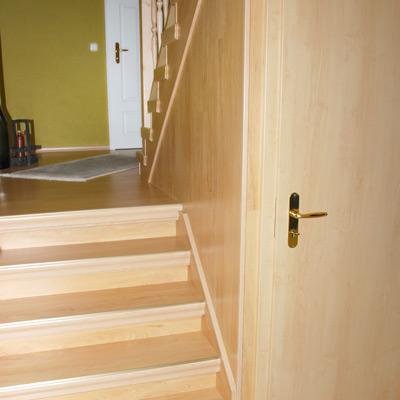 Offenes treppenhaus verkleiden  Treppenverkleidung | Alte Treppe neu