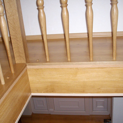 treppenverkleidung alte treppe neu. Black Bedroom Furniture Sets. Home Design Ideas