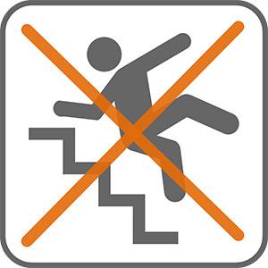 sichere Treppe